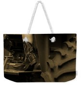 These Boots 1 Sepia Weekender Tote Bag