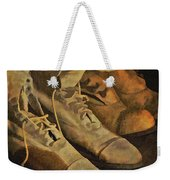 These Boots Are Made For Walking Weekender Tote Bag