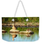 These Ducks Rock Weekender Tote Bag