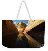 The Wave Reflected Beauty 1 Weekender Tote Bag