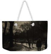 They Come To Central Park Weekender Tote Bag