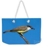 Thick-billed Kingbird Tyrannus Weekender Tote Bag