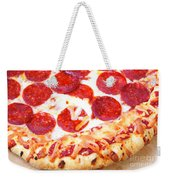Thick Crust Peperoni Pizza Weekender Tote Bag