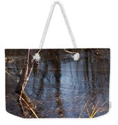 Thin Ice Of A New Day Weekender Tote Bag