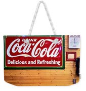 Things Go Better With Coke Weekender Tote Bag
