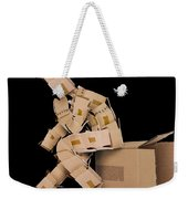 Think Outside The Box Concept Weekender Tote Bag