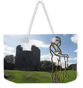 Thinking About The Castle Weekender Tote Bag