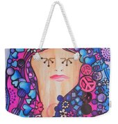 Thinking Of Peace Weekender Tote Bag
