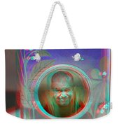 Thinking Inside The Box - Red/cyan Filtered 3d Glasses Required Weekender Tote Bag
