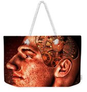 Thinking Man Weekender Tote Bag