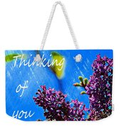 Thinking Of You 3 Weekender Tote Bag