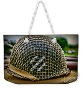 Third Infantry Division Helmet Weekender Tote Bag