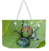 Thirsty Beetle Weekender Tote Bag