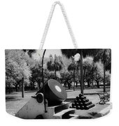 Thirteen Inch Mortar Weekender Tote Bag