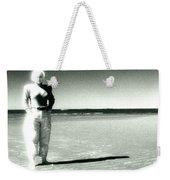 This Empty Beach Weekender Tote Bag