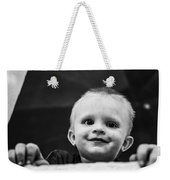 This Grubby Little Guy. In Africa The Weekender Tote Bag