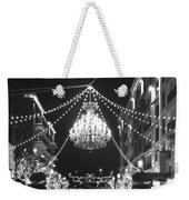 This Is A Classy Town Weekender Tote Bag