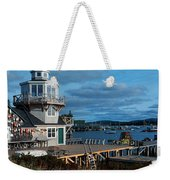 This Is A Lobster Village In New Weekender Tote Bag