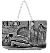 This Is Chicago Weekender Tote Bag