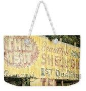 This Is It Weekender Tote Bag by Joan Carroll