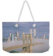 This Is The Brooklyn Bridge Weekender Tote Bag