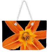 This Orange Lily Weekender Tote Bag