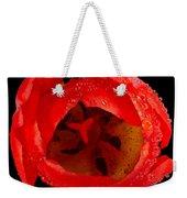 This Red Tulip Weekender Tote Bag