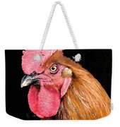 this Rooster Means Business Weekender Tote Bag