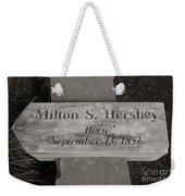This Way To The Birth Place Weekender Tote Bag