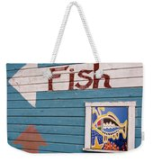 This Way To The Fish Weekender Tote Bag