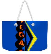 This Way To Vegas Weekender Tote Bag