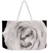 This White Rose Weekender Tote Bag