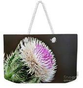 Thistle Bloom Weekender Tote Bag