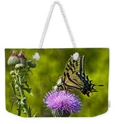 Thistle Do Just Fine Weekender Tote Bag