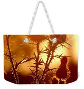 Thistle Edge Glow Weekender Tote Bag
