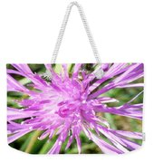 Thistle In Umbria Weekender Tote Bag