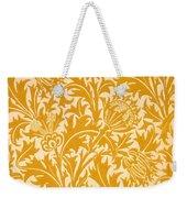 Thistle Wallpaper Design, Late 19th Weekender Tote Bag