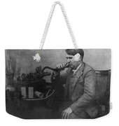 Thomas Alva Edison 1892 Weekender Tote Bag