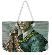 Thomas Cavendish (c1560-1592) Weekender Tote Bag