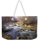 Thomas Creek Weekender Tote Bag