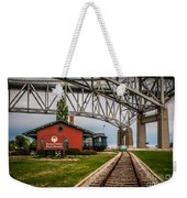 Thomas Edison Museum And Rr Track Weekender Tote Bag