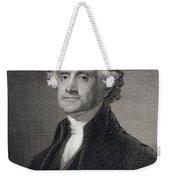 Thomas Jefferson Weekender Tote Bag by Gilbert Stuart