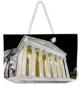 Thomas Jefferson Memorial At Night  Weekender Tote Bag