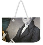Thomas Jefferson Weekender Tote Bag by Nathaniel Currier