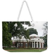 Thomas Jeffersons Monticello Weekender Tote Bag