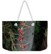 Thorns And Blooms Weekender Tote Bag