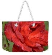Thorny Red Rose Weekender Tote Bag