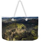 Thorsmork Valley In Iceland Weekender Tote Bag