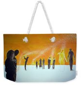 Those Who Left Early Weekender Tote Bag by Lazaro Hurtado