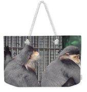 Thoughtful Monkeys Weekender Tote Bag